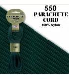 CUERDA DE PARACAÍDAS 4 MMx 4,8 METROS PARACORD 550 : CORDÓN PARACAÍDAS:1636 FOREST CAMO
