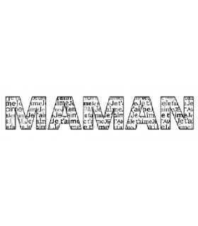 SELLO CAUCHO CON MADERA MAMAN 2,6x10 CM