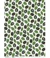 PAPEL ARTEMIO 50x70 CM DEEG GREEN HOJAS
