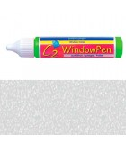 PINTURA VIDRIO WINDOW PEN DE HOBBY LINE 25 ML : WINDOW COLOR C2:41730 HIELO OPACO