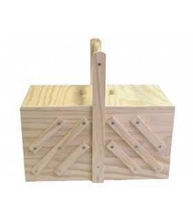 Costurero de madera Artemio 32x16x29 CM