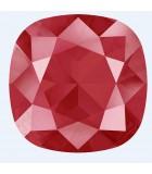 CUSHION SQUARE CRISTALES SWAROVSKI DeLite 12 mm : DE LITE:ROYAL RED DeLite