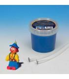 CERA DE MODELAR PARA VELAS 250 gramos : color:Azul, ENVASE:250 Gramos