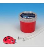 CERA DE MODELAR PARA VELAS 250 gramos : color:Rojo, ENVASE:250 Gramos