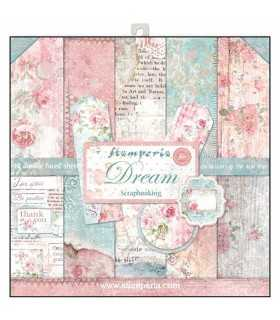 PAPELES SCRAP STAMPERIA 10ud 12x12 DREAM SUEÑA