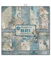 PAPELES SCRAP STAMPERIA 10ud 12x12 BLUES SCRAP