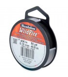 BEADALON WILDFIRE 0,15 MM 45,8 M RESISTE 4,5 KG : color:Negro
