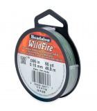BEADALON WILDFIRE 0,15 MM 45,8 M RESISTE 4,5 KG : color:Verde