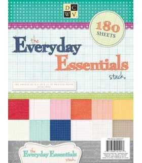 PAPELES DCWV EVERYDAY ESSENTIALS 8,5x11 180 UD