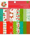 PAPEL SCRAP 1 CARA AC 36 HOJAS 6x6 PUL HOLIDAY
