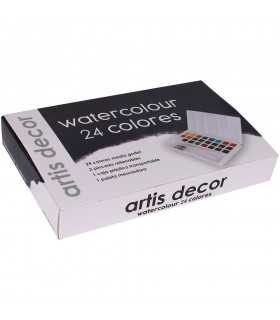 WATERCOLOUR SET ACUARELA 24 COLORES