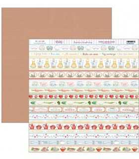 PAPEL SCRAP 2 CARAS 30,5x30,5cm CENEFAS COCINA