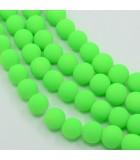 BOLAS CAPA CAUCHO FLUORESCENTE 8 MM 100 UD APROX : color:Verde