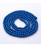 PERLAS CRISTAL LACADO 4 MM AGUJERO 1 MM 1 HILO : PERLAS CRISTAL LACADO:72 STEEL BLUE