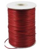 CORDÓN DE ALGODÓN ENCERADO 1 MM x 5 METROS : color:Rojo