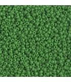 GRANITO MIYUKI 11/0 OPACO GRUPO B 25 GR APROX : MIYUKI ROCALLA:411 OP JADE GREEN