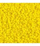 GRANITO MIYUKI 11/0 OPACO GRUPO C 25 GR APROX : MIYUKI ROCALLA:404 Opaque Yellow