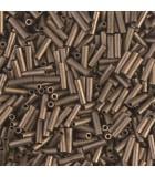 CANUTILLO MIYUKI 6 mm METALLIC FROSTED-1 10 GR : MIYUKI ROCALLA:2006 MATT MET BRONZE