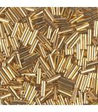CANUTILLO MIYUKI 6 mm BAÑO ESPECIAL   1 GR : MIYUKI ROCALLA:191 24 KT GOLD PLATE