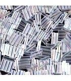 CANUTILLO MIYUKI 6 mm TRANSPARENTES AB-1 10 GR : MIYUKI ROCALLA:250 CRYSTAL AB
