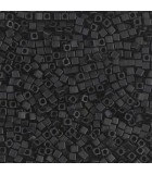 CUBOS MIYUKI  1,8 MM MATTE -1 BOLSA 10 GR : MIYUKI CUBOS:401F MATTE BLACK