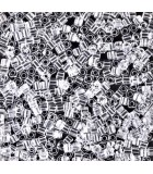 CUBOS MIYUKI 1,8 MM TRANSPARENT-1 BOLSA 10 GR : MIYUKI CUBOS:131 CRYSTAL