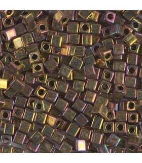 CUBOS MIYUKI  3 MM METALLIC IRIS-3 BOLSA 10 GR