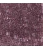 CUBOS MIYUKI  3 MM TRANSPARENT-1 BOLSA 10 GR : MIYUKI CUBOS:142 TRANS LT AMETHYS