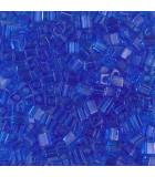 CUBOS MIYUKI  3 MM TRANSPARENT-1 BOLSA 10 GR : MIYUKI CUBOS:150 TRANS SAPPHIRE