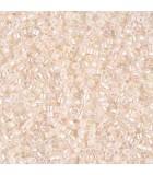MIYUKI DELICA BEADS 11/0 COLOR LINED BOLS 6 GR APR : COLORES DELICA:052 PL PEACH LN CRAB