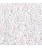 MIYUKI DELICA BEADS 11/0 MATE-2 BOLSA 6 GR APR : COLORES DELICA:351 MATTE WHITE