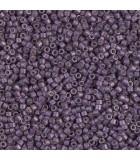 MIYUKI DELICA BEADS 11/0 METAL MATE  6 GR APR : COLORES DELICA:1174 GAL MA EGGPLANT