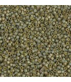 MIYUKI DELICA BEADS 11/0 METAL MATE  6 GR APR : COLORES DELICA:372 MM LT OLIVE