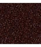MIYUKI DELICA BEADS 11/0 OPACOS-1 BOLSA 6 GR APR : COLORES DELICA:734 OP CHOCOLAT