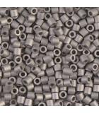 MIYUKI DELICA BEADS 8/0 METAL MATE 5 GR APR : COLORES DELICA:321 NICKEL PLATED
