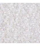 MIYUKI DELICA BEADS 10/0 CEYLON BOLSA 5,6 GR APR : COLORES DELICA:222 WHITE OPAL AB
