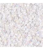 MIYUKI DELICA BEADS 15/0 CEYLON 2 GRAMOS : COLORES DELICA:202 WHITE PEARL AB