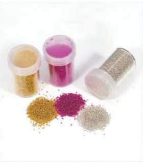 MICROBEADS 0,8-1 MM SET 3 COLORES x 22 GRAMOS