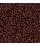 GRANITO MIYUKI 15/0 OPACO GRUPO C 6 GR APROX : MIYUKI ROCALLA:409 OPAQUE BROWN