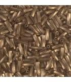 CANUTILLO RETORCIDO MIYUKI 6x2mm ORO ANT MATE 10g : MIYUKI ROCALLA:1265 GAM TR CHARTREU