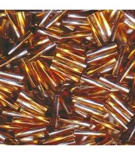 CANUTILLO RETORCIDO MIYUKI 6x2mm S.L.-2  10 GR