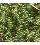 CANUTILLO RETORCIDO MIYUKI 6x2mm S.L.-2  10 GR : MIYUKI ROCALLA:3941 SL CLEAR OLIVE