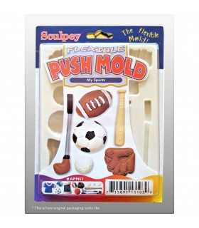 MOLDE FLEXIBLE SCULPEY DEPORTES