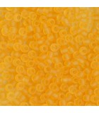 GRANITO TOHO 11/0 (2 mm) TRANSPARENTES FROST 25 GR : TOHO:2F TR FROST LT TOPAZ