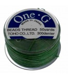 HILO ONE G DE TOHO 0,25 MM 46 METROS : COLORES C LON:Green