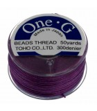 HILO ONE G DE TOHO 0,25 MM 46 METROS : COLORES C LON:Purple