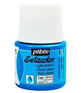 SETACOLOR PEBEO FLUORESECENTE 45 ML. PINTURA TELA