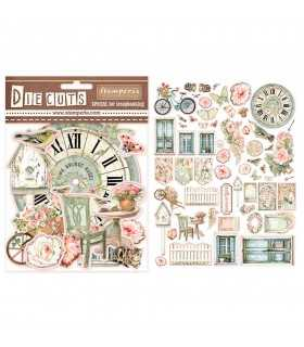 DIE CUTS STAMPERIA HOUSE OF ROSES 59 UD