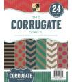 BLOC CARTULINAS DCWV CORRUGADAS 8,5x11 24 UD