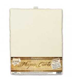 PAPEL ARTESANAL HECHO A MANO 30x42 IVORY 1 UD
